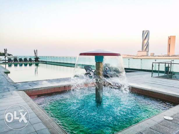 Brand New Sea View Furnished 2 Br Apartment