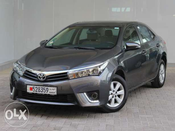 Toyota Corolla 2.0L XLI 2015 Grey For Sale