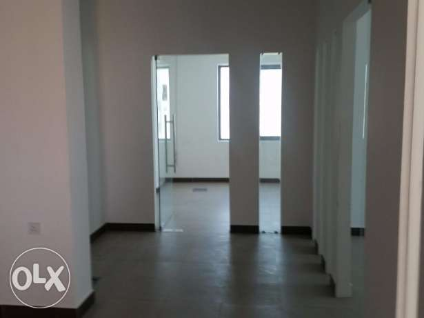 Office with partitions available in an accessible location in Seef.
