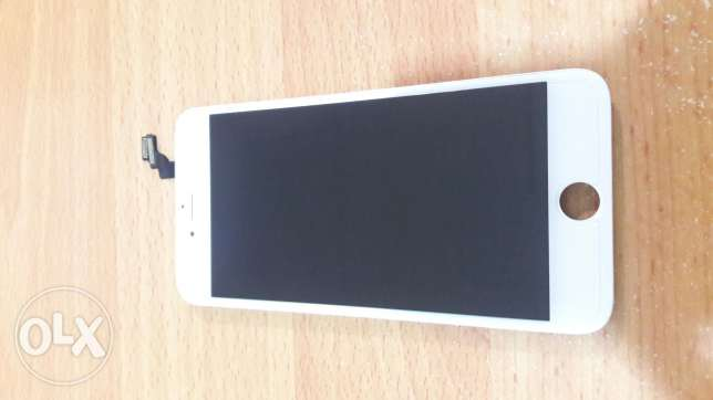 Iphone 6 plus lcd screen for sale same as new used 1 month only.