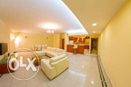 JUFFAIR -FURNISHED APARTMENT-3bedroom,maid room,3bath,hall,lift,kitche