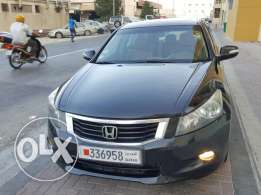 Honda Accord Black 2008 Full Option + Passing & Insurance
