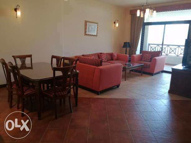 Great and affordable fully furnished 2 bedrooms flat for rent in Sanab