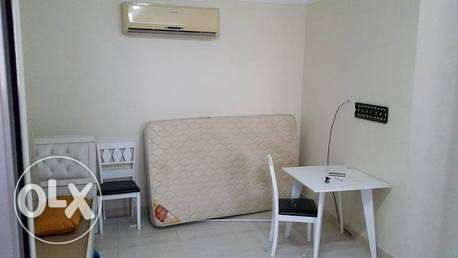 semi furnished roof top studio close to saar mall