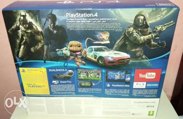 New play station 4 boxpack with warranty 1 year الرفاع‎ -  2