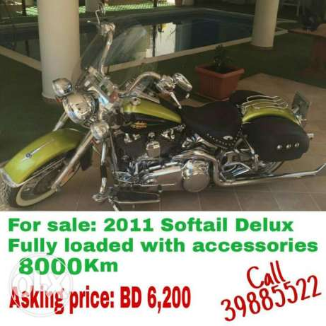 Harley Softail Deluxe 2011