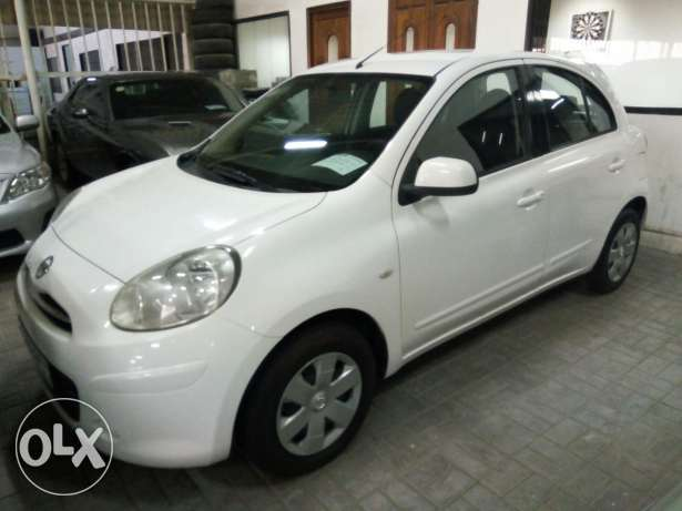 NISSAN MICRA 2013 monthly installment available only through Bank