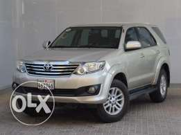 Toyota Fortuner 2014 Gold Color For Sale