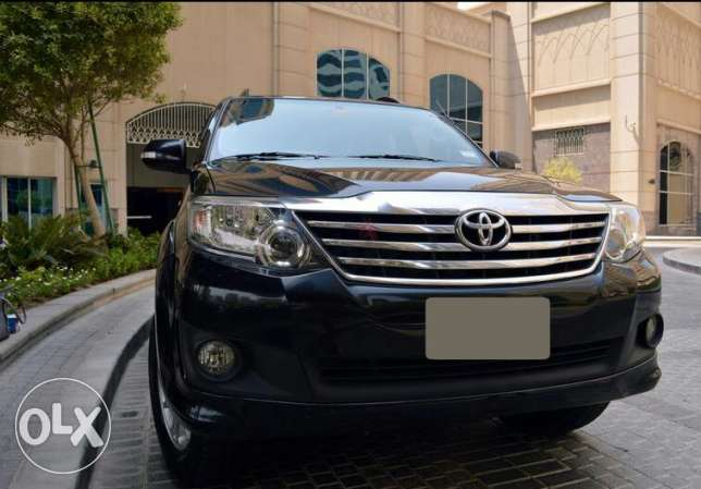 4x4 Toyota FORTUNER 6 cylinders 2012