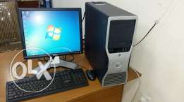 DELL COMPUTER FULL SET BRANDED pc/lcd monitor/keyboard, mouse /dvd ram