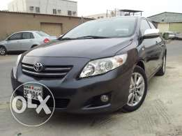 Corolla 1.8 gli 2010 full option for urgent sale
