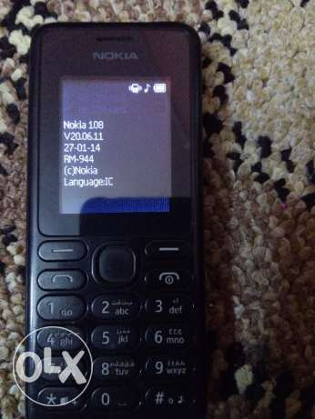 Nokia 108 2sim for sale (bd8)
