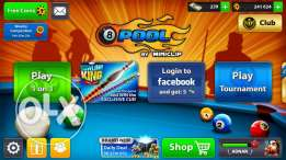 8 ball pool account for sale