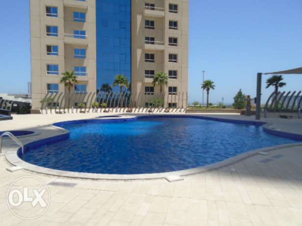 2 Bedrooms flat for rent at Abraj lulu on 19th floor