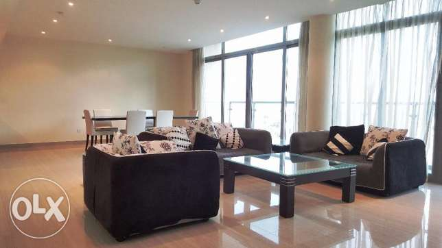 Charming lovely 3 Bed rooms Duplex apartment with modern Furniture