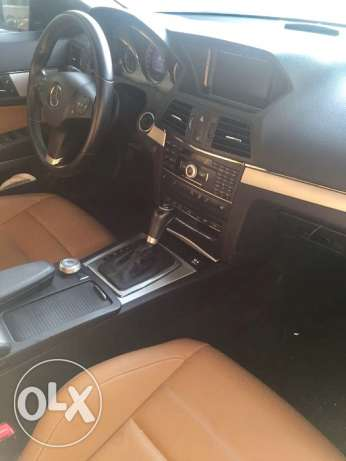 Black Mercedes E200 Cabriolet 2011 for Sale