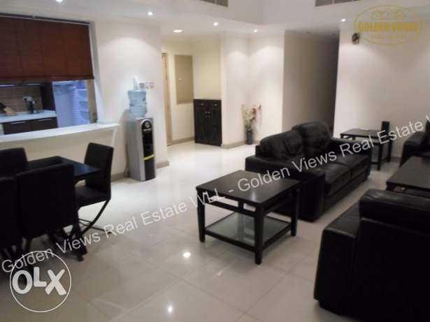 3 Bedroom + Maid room semi furnished flat with large balcony inclusive