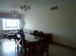 2 + Maid bedrooms furnished flat for rent at Busaiteen for BD550