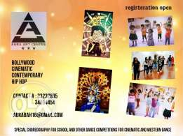 Learn guitar, piano, keyboard or dance (Aura Arts Centr )