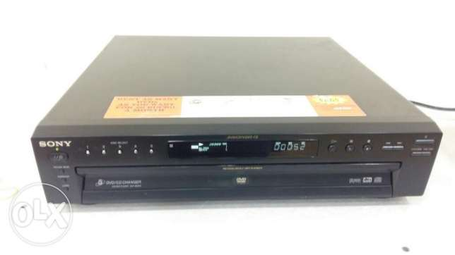 SONY DVD PLAYER 5disc changer