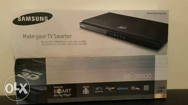 Samsung Blu-ray 3D DVD player