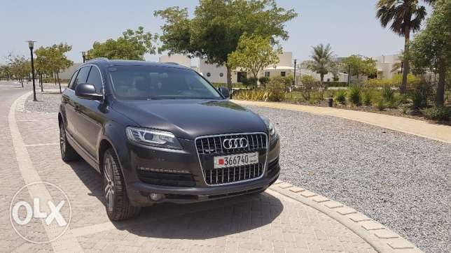 Audi Q7 2009 with Genuine Facelift