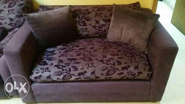8 seater sofa set with 2 centre table for sale
