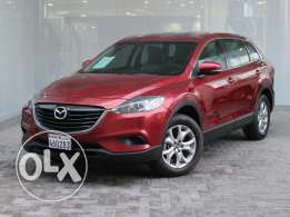 Mazda CX-9 full option with GPS 2014 Red For Sale