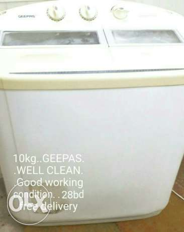 Washing machine for sale. . . Free delivery