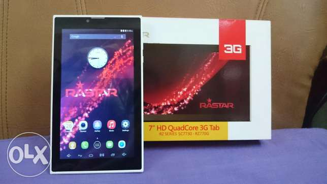 Brand New RawStar Tablet Dual Sim For Sale