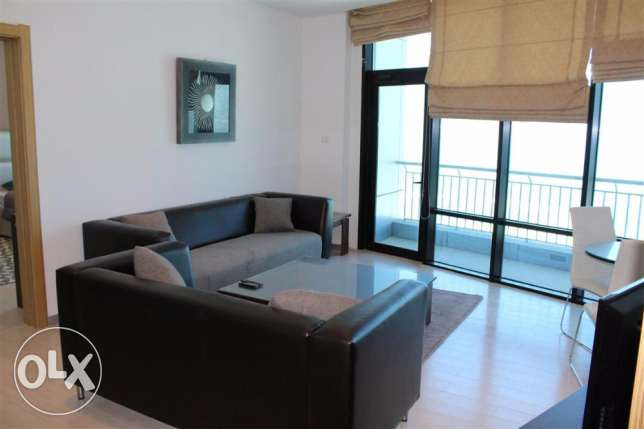 20SFA One Bedroom Fully Furnished Apartment With Full Vea View In Seef