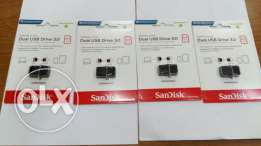 New Sandisk 64gb Usb Dual Usb And Mobile 7BD