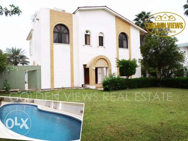 5 Bedroom semi furnished villa for rent with pool,garden all inclusiv