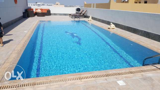 Janabiyah/ 3 BR Apartment, closed to Saudi causeway, with a new split