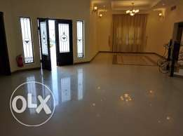 4 bedroom semi furnished very nice villa for rent close to saudi cause
