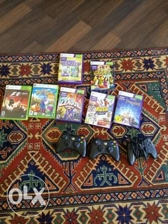 Xbox 360 excellent condition with kinect