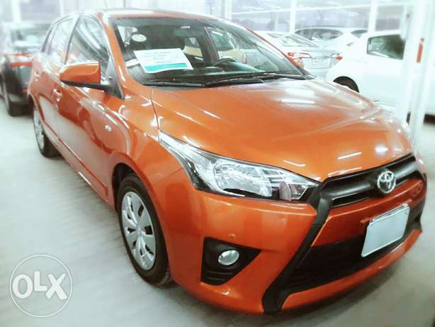 Toyota Yaris model 2015 hatchpack for sale.loan arrangement also.