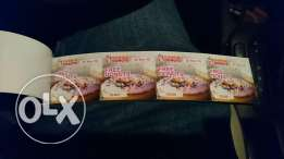 Dunkin Donuts free donuts coupons