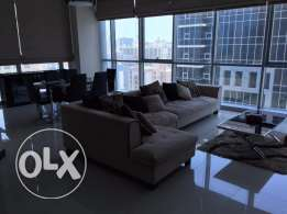 Juffair Fontana Tower for rent 3 bedrooms fully furnished apartment