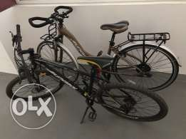 Sundeal M4 mountain bike and Sundeal T1 City Bike for Sale