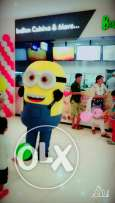 Minion Mascot for your Birthday Parties