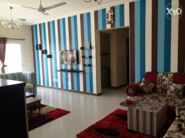 Furniture 2 Bedroom Apartment 4 Rent with 2 balcony