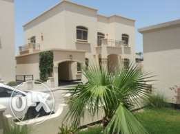 semi furnished villa with pool close to Saudi causeway