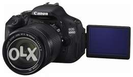 Canon 600D + 2 Lenses (18-55mm) and (55-250mm stm lens - Image stab.)