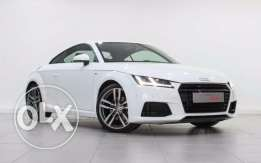 Audi Approved TT Coupe White 45 TFSI