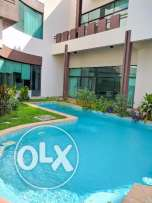 4 Bedroom semi furnished villa with large private pool,garden