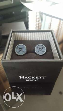 Hacket Mayfair BLue Cufflinks (New and Boxed)