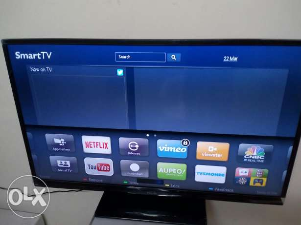 Philips 46 full HD smart Led tv