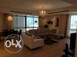 Elegant 2 bedroom Apartment near Ritz Carlton hotel for rent at Seef