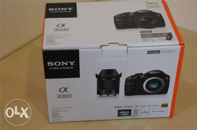 Sony A3000 DSLR Camera with 18-55mm Lens المنامة -  1